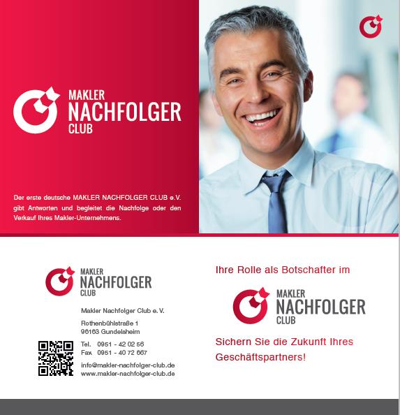 Makler Nachfolger Club Botschafter
