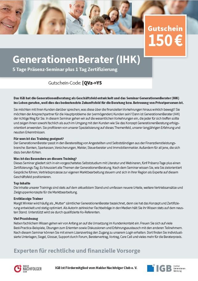 Gutschein GenerationenBerater